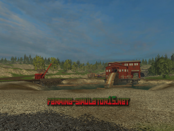 Мод Карта Vosges V 4.0 для Farming Simulator 2015