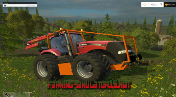 Мод Case IH Magnum CVX 380 Forest Edition v 2.0 - Трактор для Farming Simulator 2015