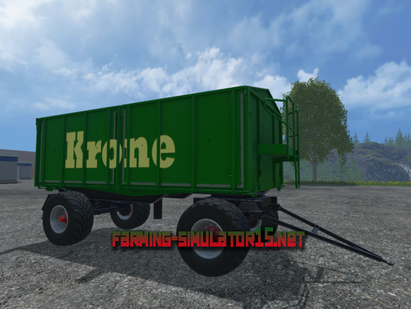 Мод Прицеп Crown Trailer V 1.0 для Farming Simulator 2015
