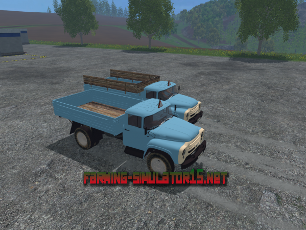 Мод ЗИЛ 130 для Farming Simulator 2015
