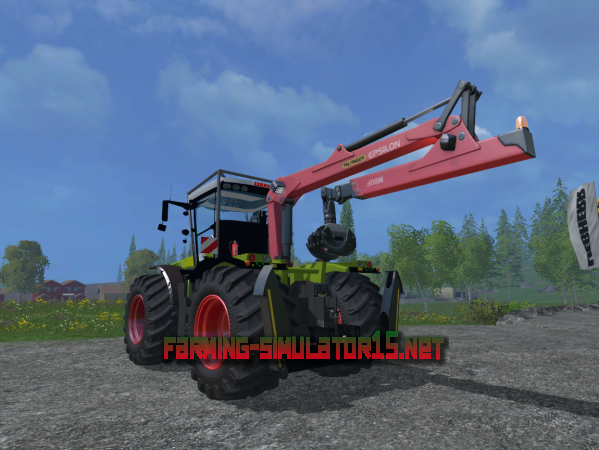 Мод Claas Xerion 5000 Forest Edition v 1.0 - Трактор для Farming Simulator 2015