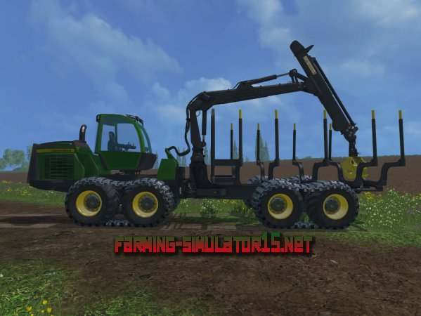 Мод John Deere 1510e IT4 V 1.0 для Farming Simulator 2015