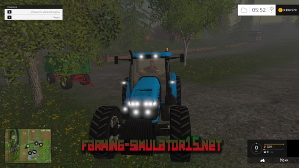 Мод New Holland 8970 v1.0 для Farming Simulator 2015