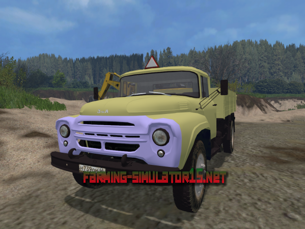Мод ZIL 130 V 1.1 - Грузовики для Farming Simulator 2015