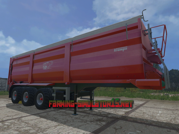Мод Krampe SB 3060 v 1.0 - полуприцеп для Farming Simulator 2015