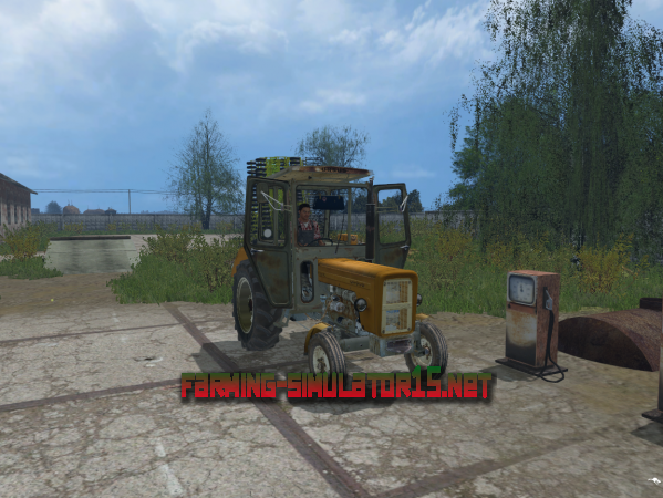 Мод Ursus C360 v1.0 (by XYZ) - Трактор для Farming Simulator 2015