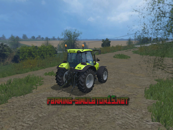 Мод Deutz Fahr 5150 TTV V 1.1 для Farming Simulator 2015