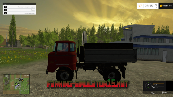 Мод IFA W50 v1.1 для Farming Simulator 2015