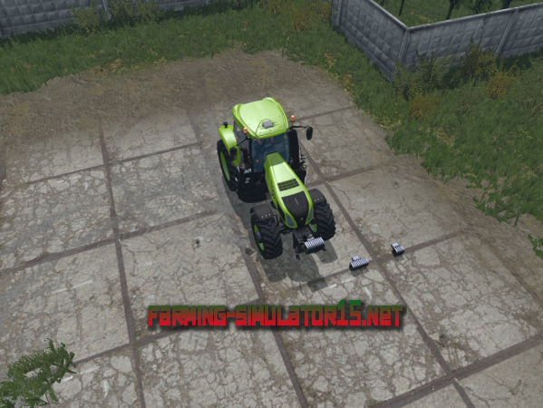 Мод NH Coupling Weights Pack V 1.1 - Противовесы для Farming Simulator 2015