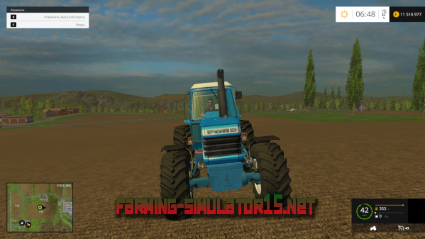 Мод Ford tw 30 для Farming Simulator 2015