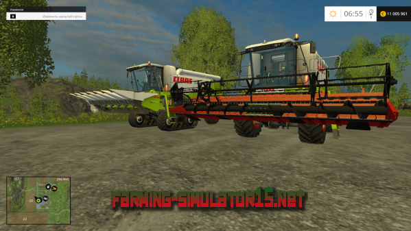 Мод Claas Lexion 550 & 560 TT v 1.0 для Farming Simulator 2015