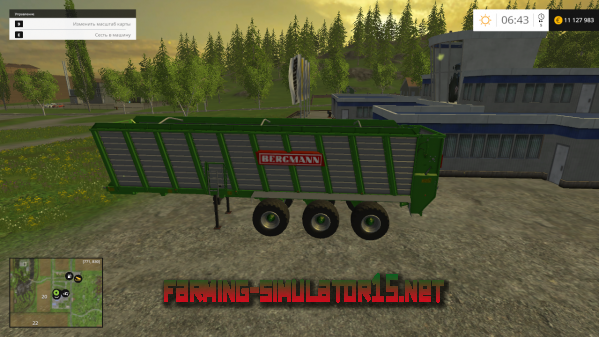 Мод Bergmann HTW 85 v1.0 для Farming Simulator 2015