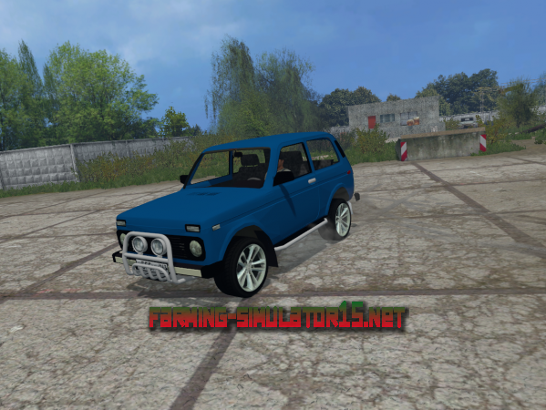 Мод Niva 2121 V 1.0 для Farming Simulator 2015