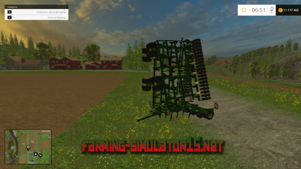 Мод John Deere 420 Extended v2.0 для Farming Simulator 2015