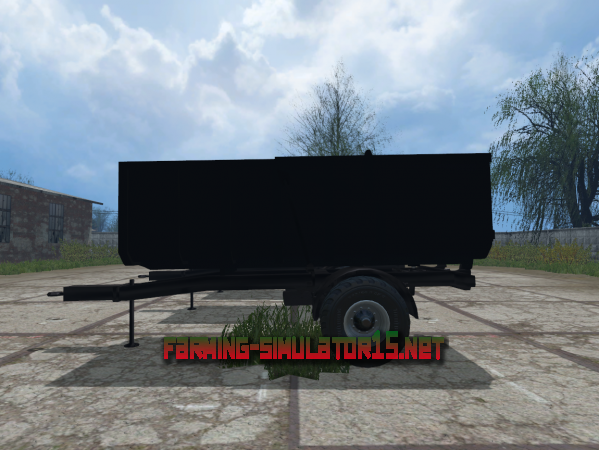 Мод Small Tipper Modern V 1.1 - Прицеп для Farming Simulator 2015