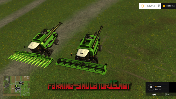Мод Deutz Fahr 7545 RTS v1.2.2 для Farming Simulator 2015