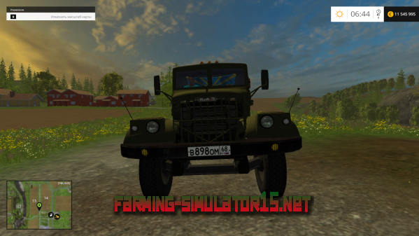 Мод Краз-258 для Farming Simulator 2015