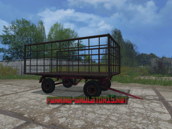 Мод ПТС фургон V 1.0 для Farming Simulator 2015