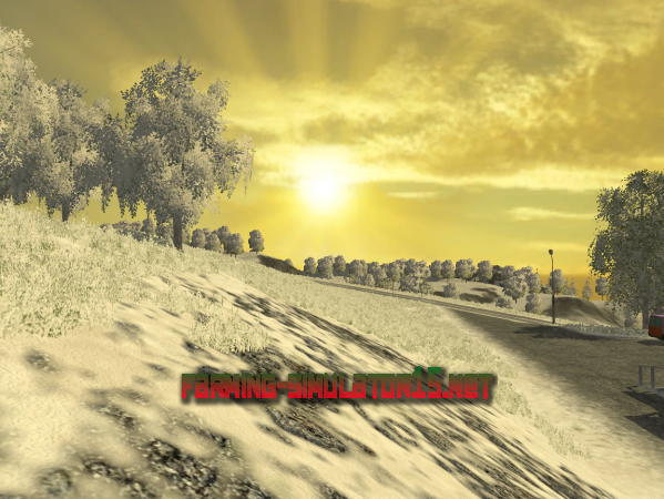 Мод Bjornhilmwinter V 1.0 Beta / Зимний Борнхольм для Farming Simulator 2015