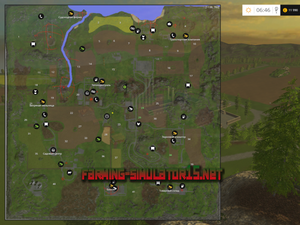 Мод SpiWoo Björntal V 3.0 для Farming Simulator 2015
