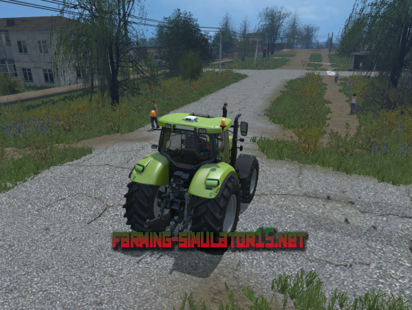 Мод Case IH Puma 200 CVX GREEN V 1.3 - Трактор для Farming Simulator 2015