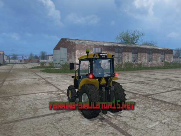 Мод Ursus 5044 yellow v1.0 - Трактор для Farming Simulator 2015