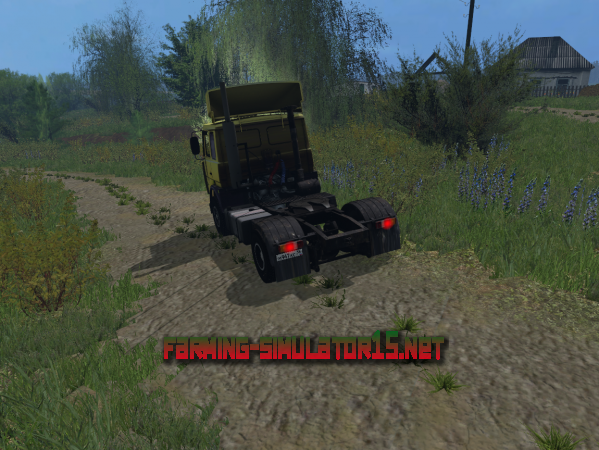 Мод MAZ 537 V 1.1.1 - Тягач для Farming Simulator 2015