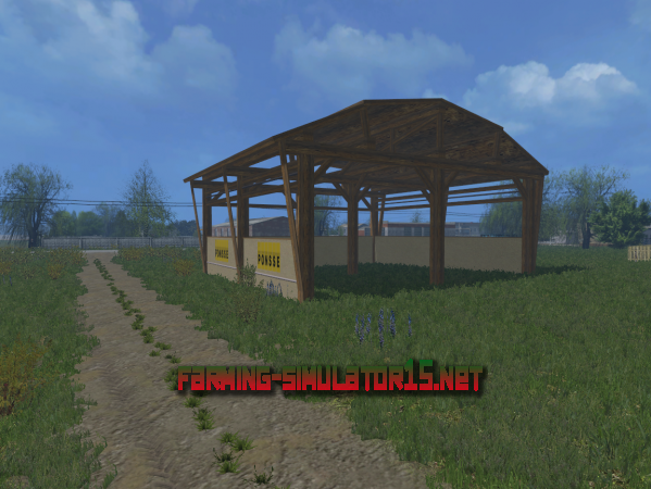 Мод Forest shelter v 1.0.1 - Навес для Farming Simulator 2015