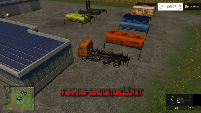 мод KamAZ 5460 & Module Pack v 1.1 для Farming Simulator 2015