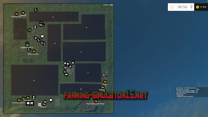 мод Elenovka v 3.2 SME для Farming Simulator 2015