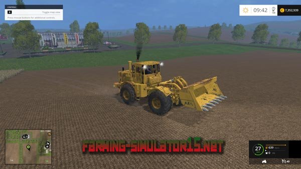 мод К-701 АР для Farming Simulator 2015