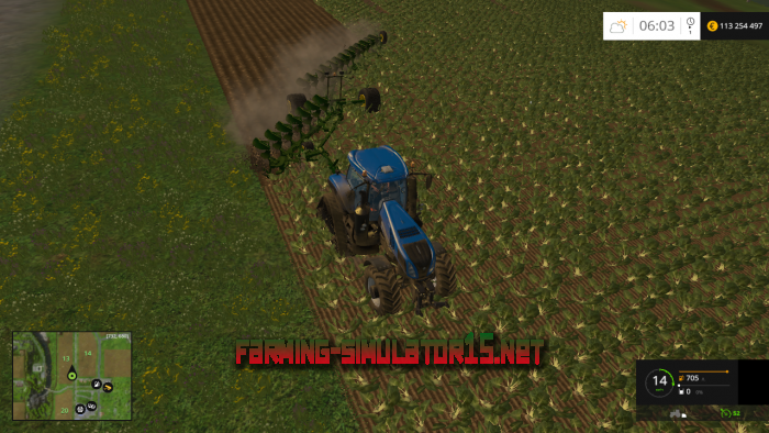 мод John Deere Titan 20 для Farming Simulator 2015