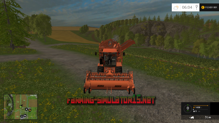 мод Ropa Euro Tiger Pack v 1.0 для Farming Simulator 2015