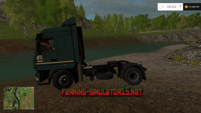 мод MAZ 5440 V 1.2 для Farming Simulator 2015