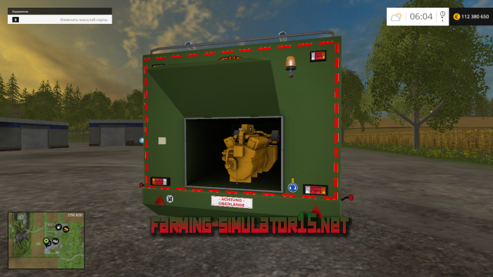 мод The Beast Heavy Duty Wood Chippers Pack v 1.1 для Farming Simulator 2015