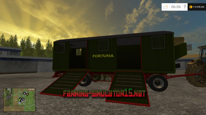мод Fortuna Trailer Pack v 1.0 для Farming Simulator 2015