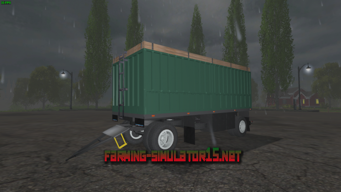 мод Прицеп GKB 8352 v 1.0 для Farming Simulator 2015