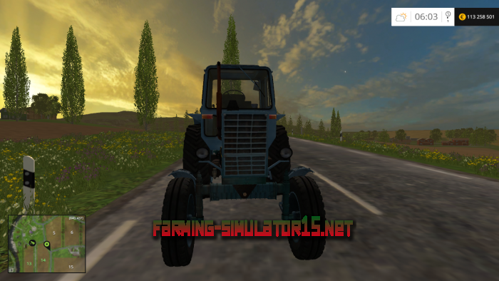 мод МТЗ 80 v4.0 для Farming Simulator 2015