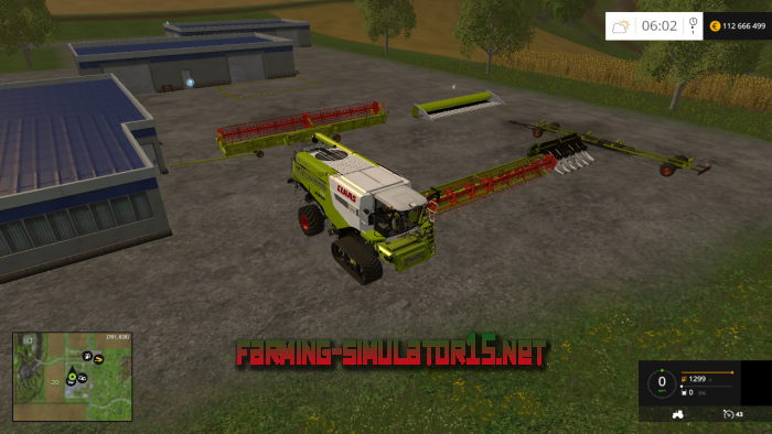 мод Claas Lexion 780 TT IC Pack v 1.0 для Farming Simulator 2015