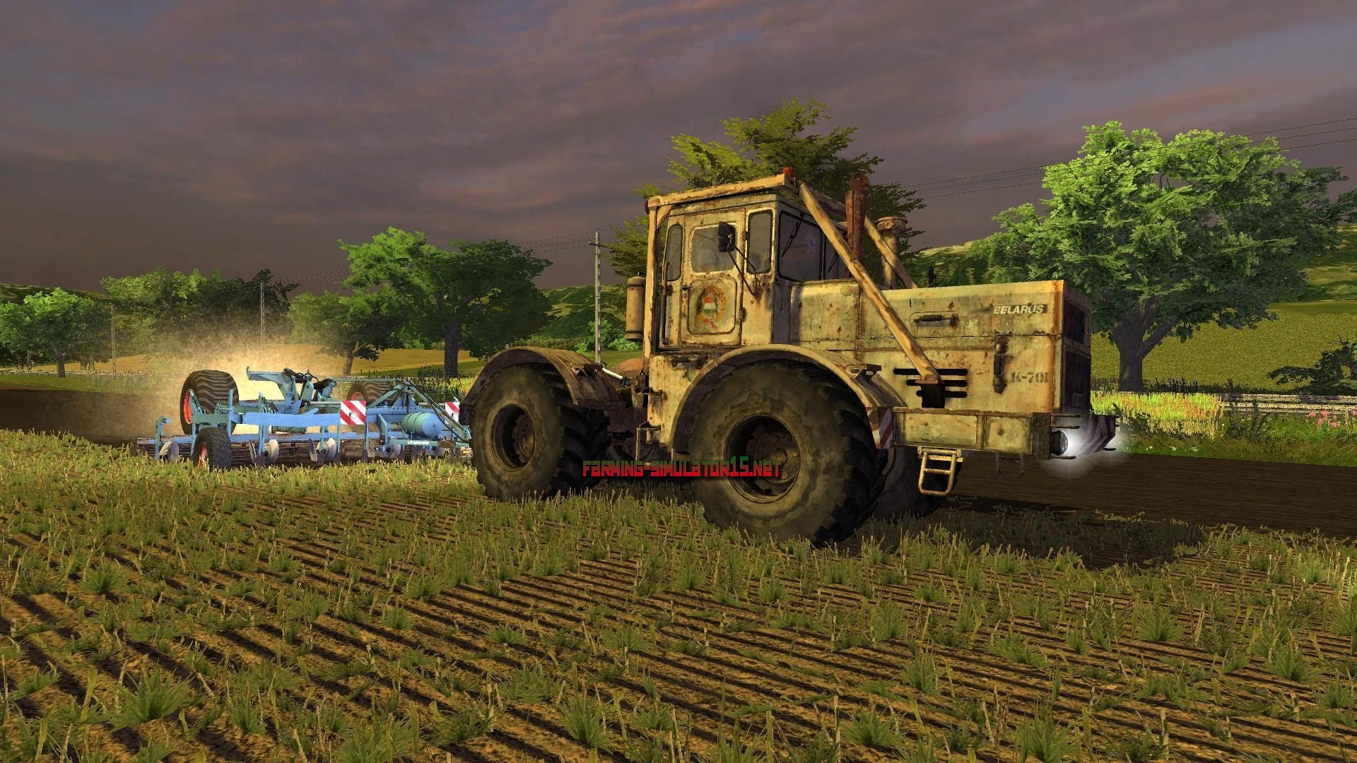 мод K701 Kirovets для Farming Simulator 2015