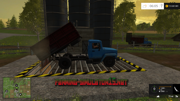 мод ГАЗ 3307 V1.0 для Farming Simulator 2015
