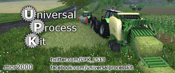 мод UniversalProcessKit V 0.10.9 для Farming Simulator 2016