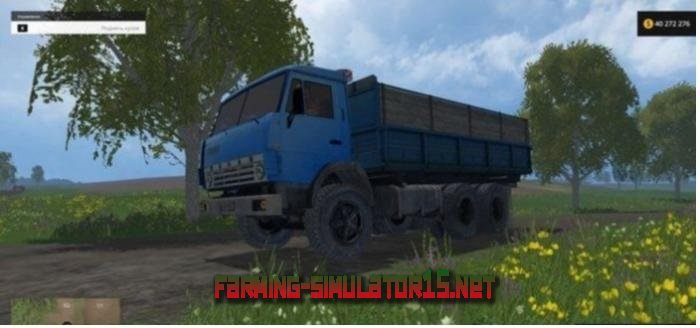 мод Камаз 55102 v2.0 для Farming Simulator 2016