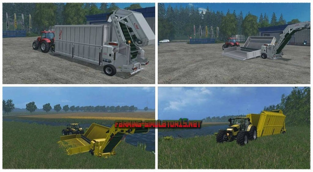 мод Fliegl Overload Station V 1.2 для Farming Simulator 2016