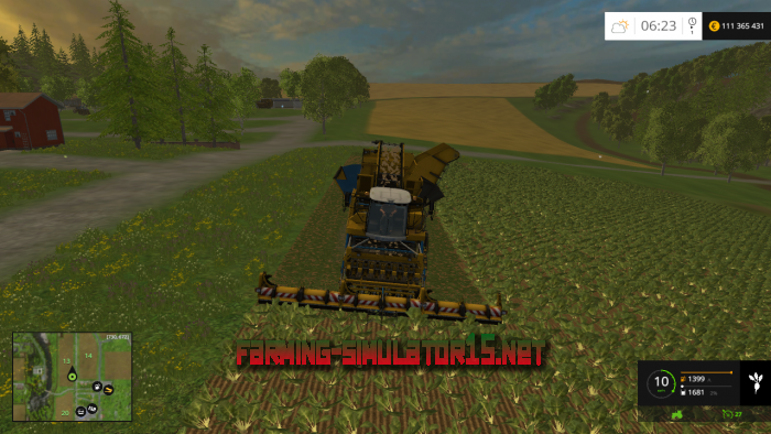 мод Small Harvester Pack v 1.0 для Farming Simulator 2016