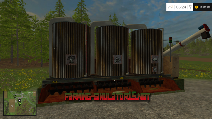 мод Mixing station v 3.2.0 Placeable (New textures) для Farming Simulator 2016