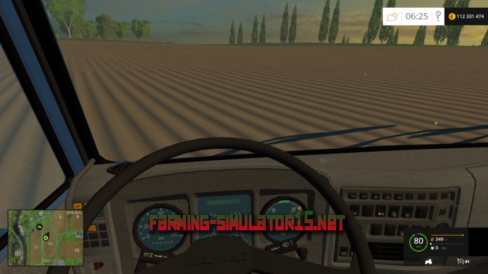 мод KamAZ-65115 & 6520 Sovok для Farming Simulator 2016